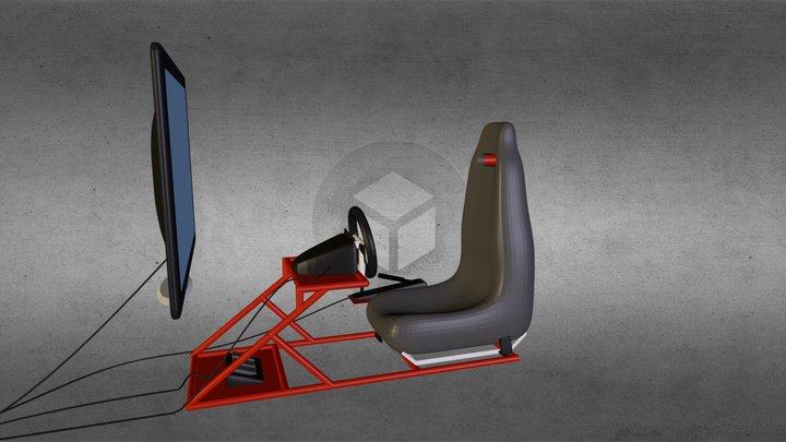 fotel2.blend 3D Model