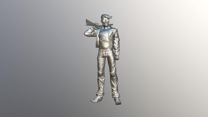 Billy-joe6-posed2 3D Model