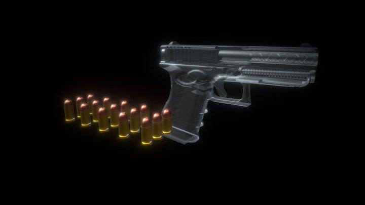 Glock 25 3D Model