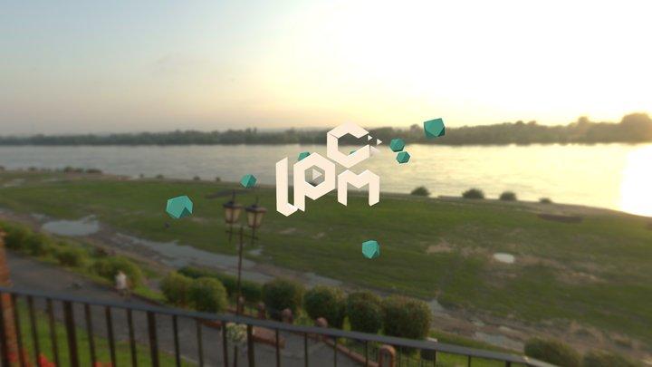 LPCM logo 3D Model