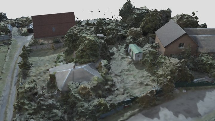 Рогошкино 3D Model