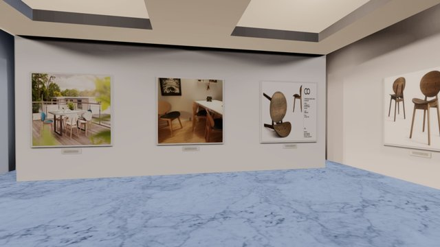 Instamuseum for @carstenbuhl 3D Model