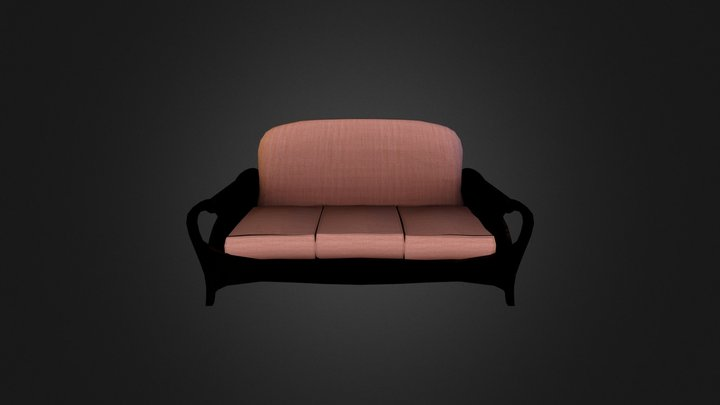 Couch Export 2 3D Model