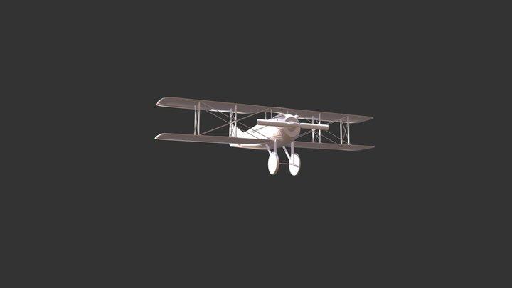 S.P.A.D S.VII 3D Model