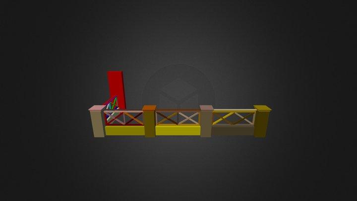 Baranda 3D Model