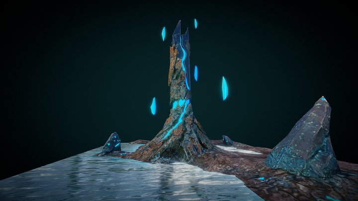Abstract Tower 3D Model
