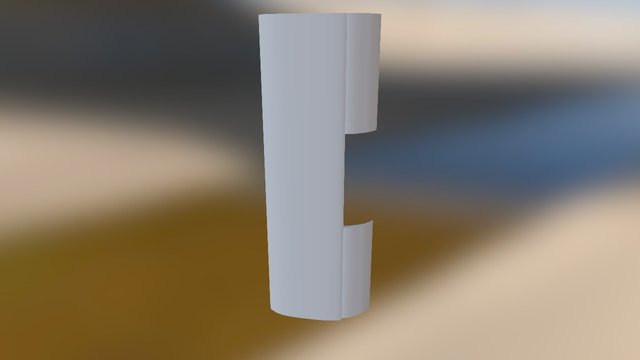 Front Wing Sae 3D Model