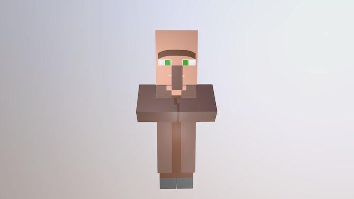 Minecraft - Villager 3D Model