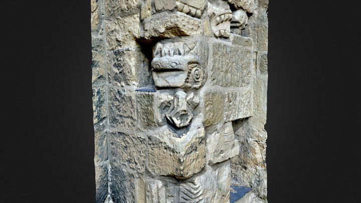 Medieval grotesques / Architectural fragments 3D Model