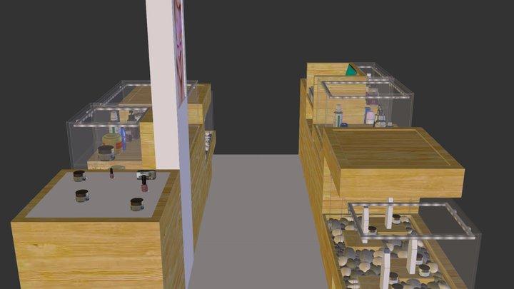 GC-NISA-KIOSK-01 3D Model