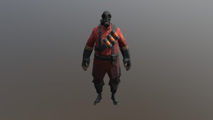 RED Pyro 3D Model