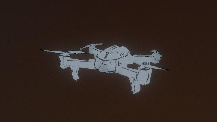 VR Drone sketch 3D Model