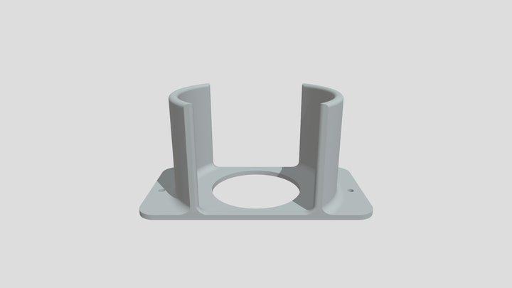 Hitachi clarner PV-BKL11G-W stand 3D Model