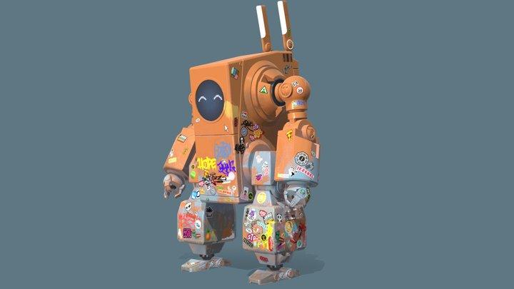RoboRabbit V2 3D Model