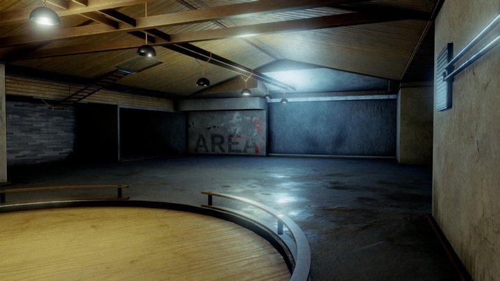 Garage / Warehouse 3D Model