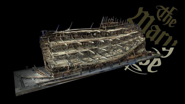 Mary Rose 3D Model