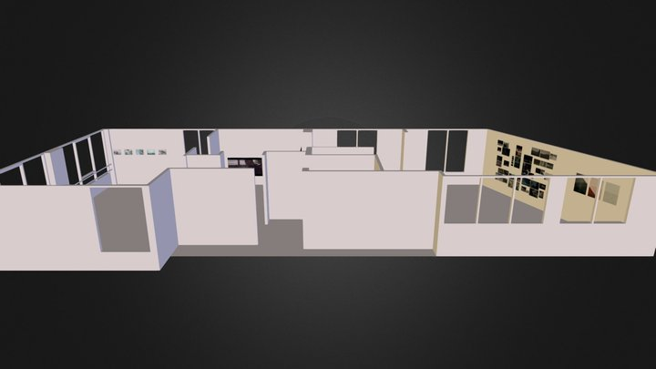 Jardin 4 3D Model