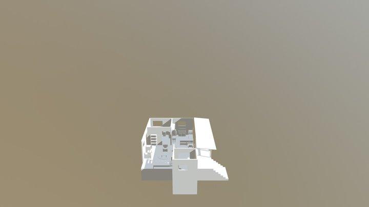 Stranger Things Cabin 3D Model