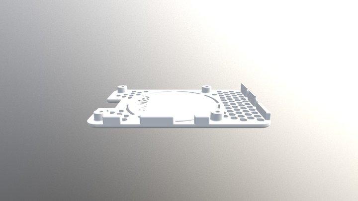 Case Top 3D Model