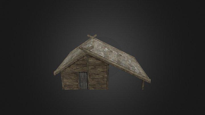 Viking Hut V1 3D Model