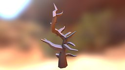 Dead Tree I 3D Model