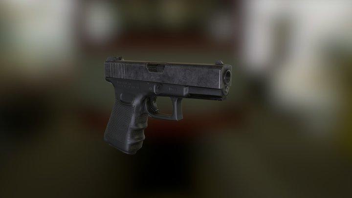 Glock 23 3D Model