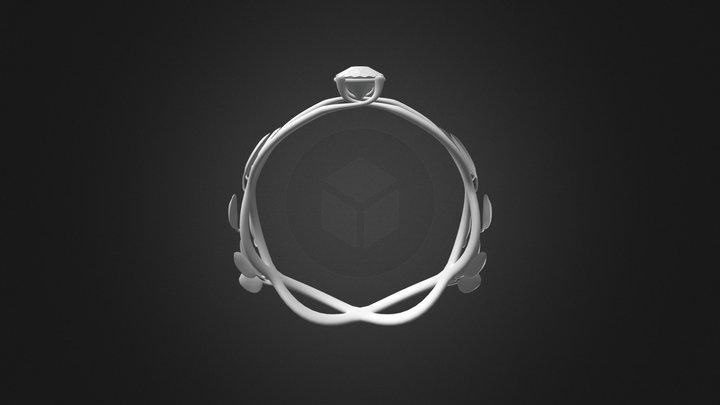 Diamond Ring 3D Model
