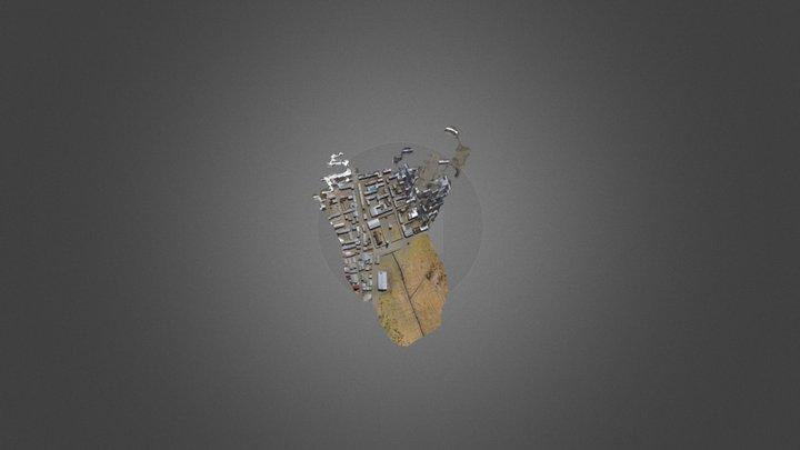 MH Isluga Simplified 3d Mesh 3D Model