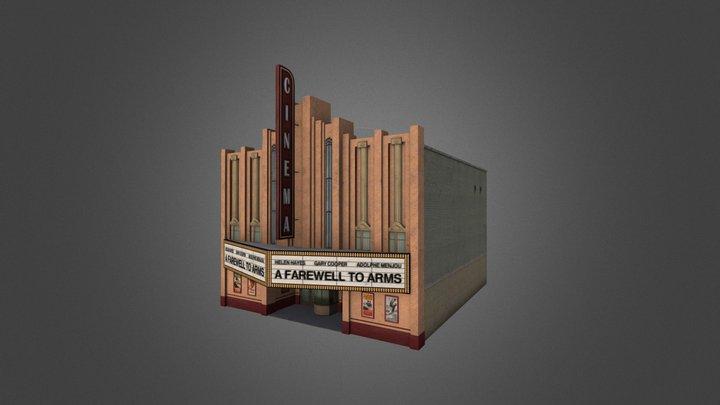 Retro City Pack II Building 07 3D Model
