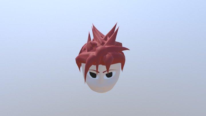 Cabeza Anime Busto bust 3D Model