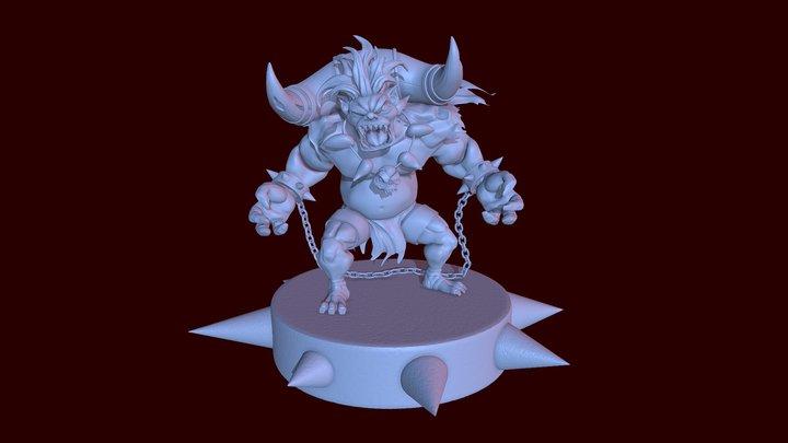 Mir Q creature 3D Model