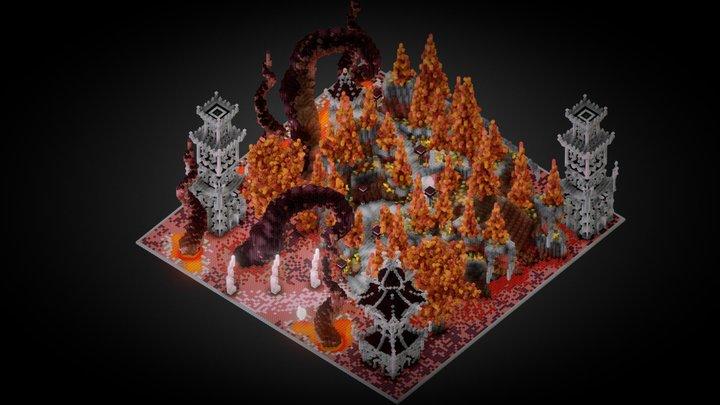 Minemen Club - Nether Koth 3D Model