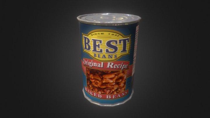 Best Baked Beans 3D Model