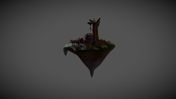 The Honours Project - The Witches Cauldron 3D Model