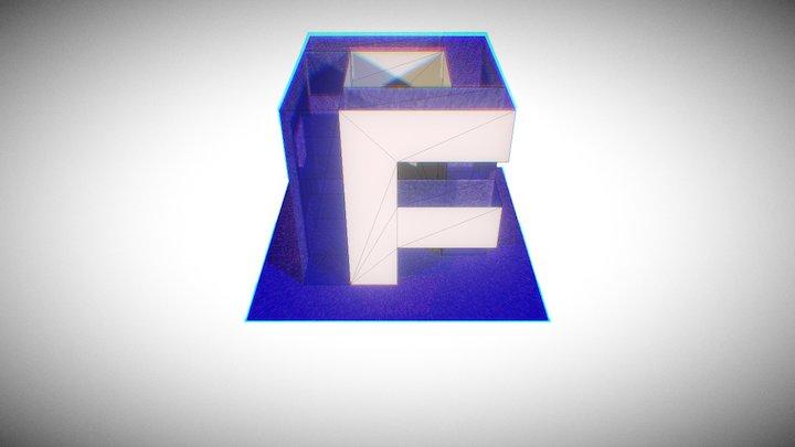 Flip Axis Logo 3D Model