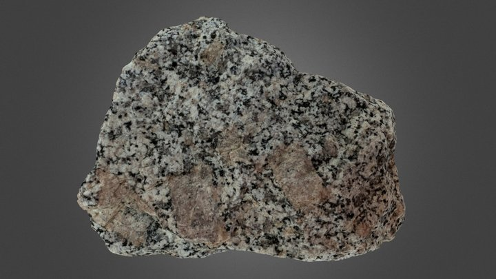Whitney Granodiorite 3D Model
