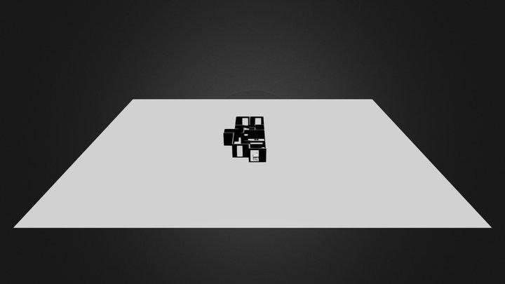 plan appart coupe pour devloppe uv2.blend 3D Model