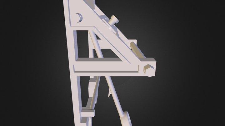 Catapult Assembly 3D Model