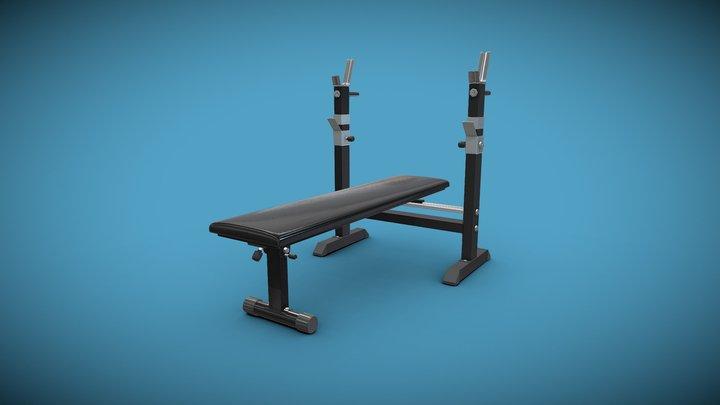 Weight Bench 3D Model