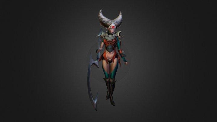 Diana 3D Model