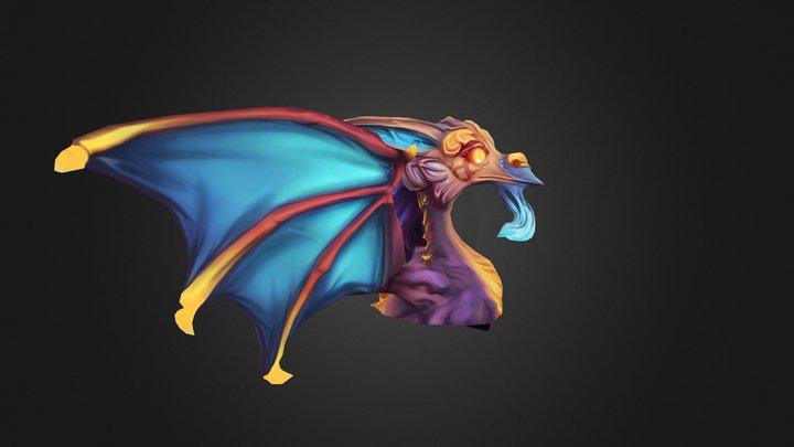 Ornament Dragon 3D Model