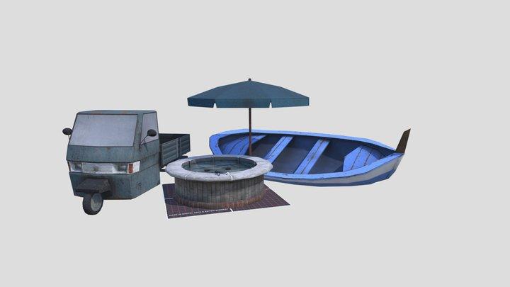 1DAE09_Fabri_Rik_Props 3D Model