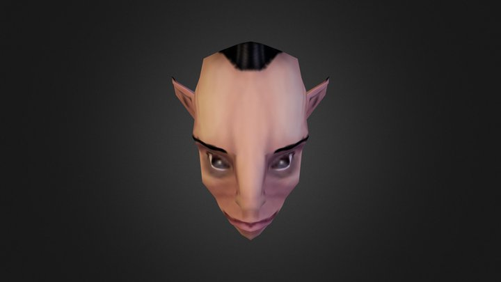 Jagex Art Test - Gnome (from 2012) 3D Model