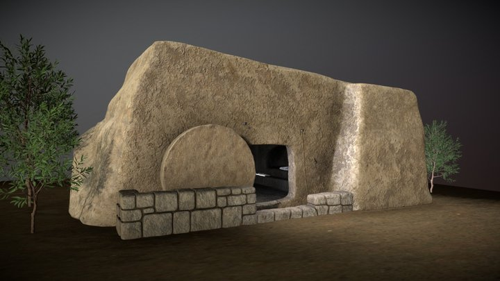 Jesus' resurrection 3D Model