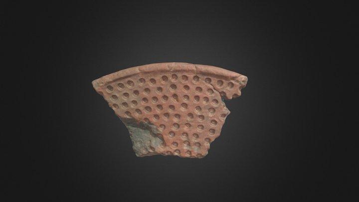 Mycenaean Griddle (P1621) 3D Model