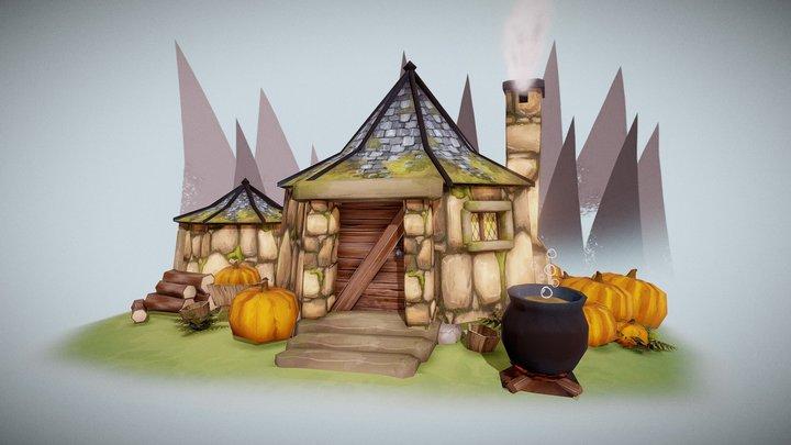 Hagrid's Hut 3D Model