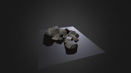 Boulder Cluster 1 3D Model