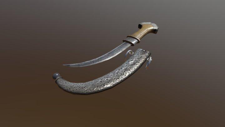 Арабский клинок 3D Model
