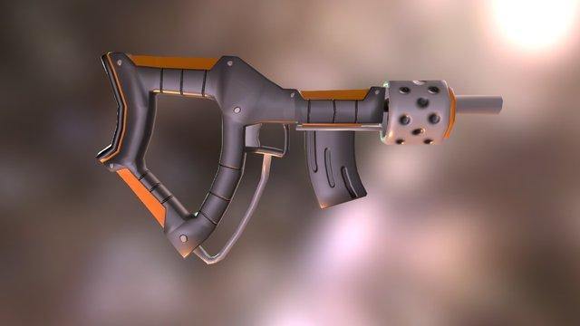 Assult Rifle 3D Model