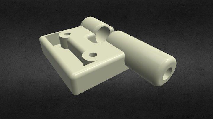 Robot Picasso 3D Printer Pen Holder 3D Model